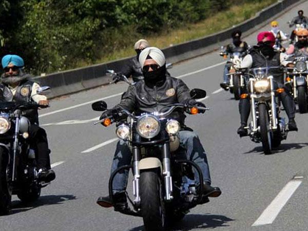 Sikh-bikers