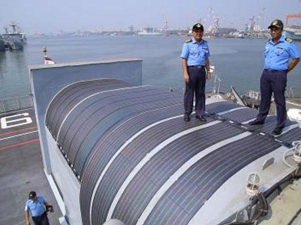Solar-panel-Indian-Navy