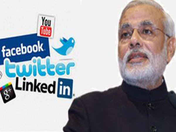 social media modi